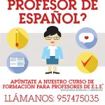 ¿Quieres ser Profesor de Español?