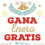Prize draw/Sorteo: ¡GANA ENERO GRATIS!