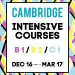 Cursos intensivos - Exámenes Cambridge Marzo 2017