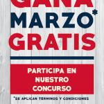 SORTEO: GANA MARZO GRATIS