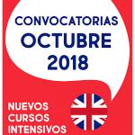 Convocatorias Cambridge de Octubre