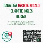 Concurso: GANA TARJETA REGALO DE 50€