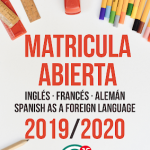 Matrícula Abierta 2019/20