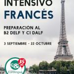Cursos de francés: comienzo 3 de septiembre