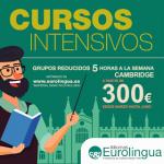Cursos intensivos Cambridge: 5 horas/semanas