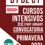 Cursos intensivos: preparación a los exámenes Cambridge de Marzo y Abril de 2021