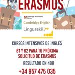Cambridge para Erasmus